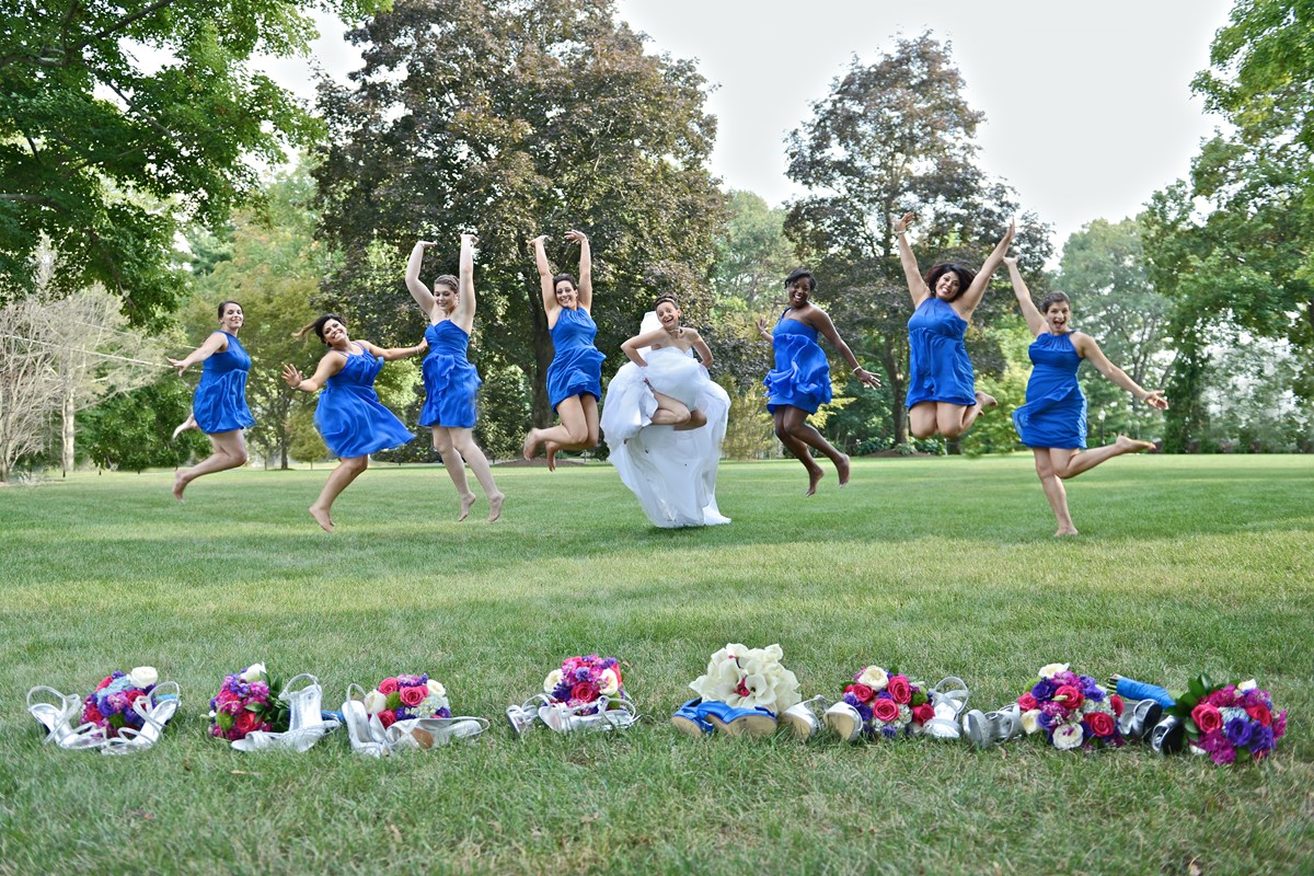 Creative Formal wedding pictures