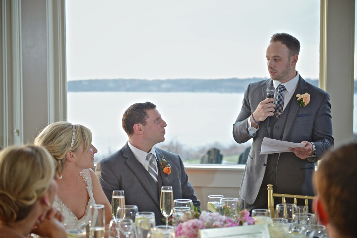 Wedding day speeches