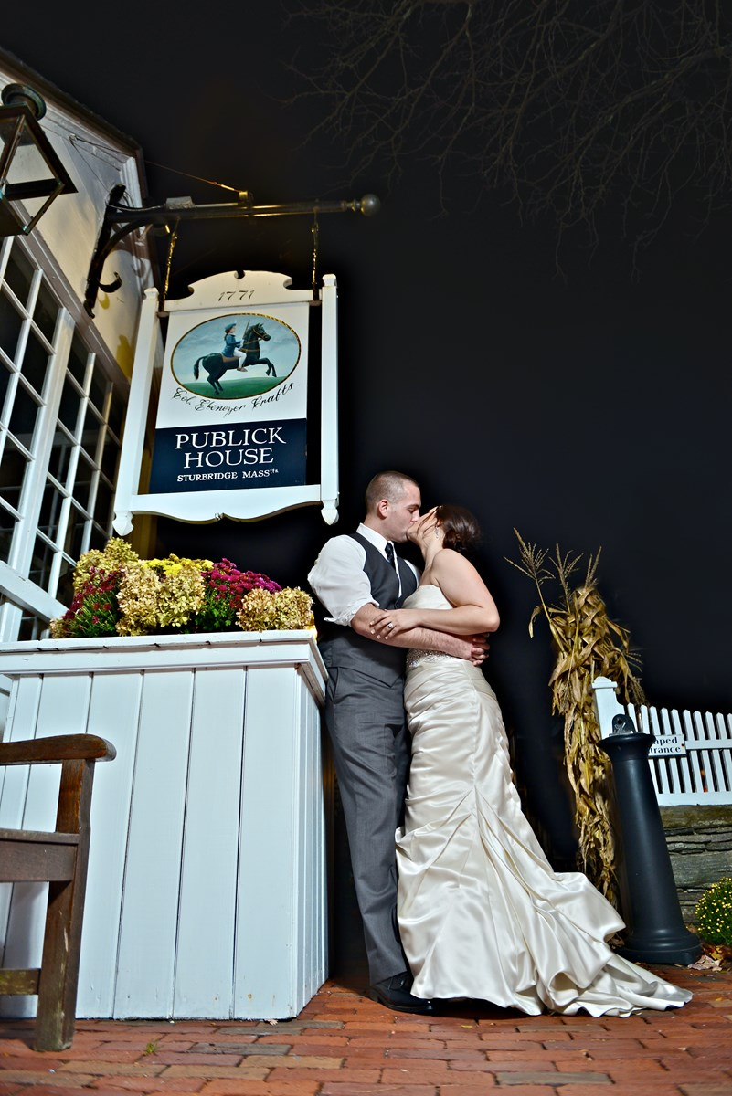 Kristina & Josh October 2015 The Publick House, MA